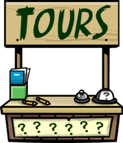 Tour Guide Booth