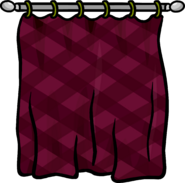 Burgundy Curtains sprite 004