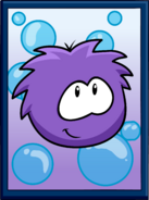 Purple Puffle Poster sprite 002