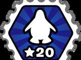 20 Sea Levels Stamp