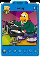 Franky Playercard