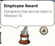 Employee Award SB