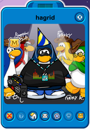 Hagrid Player Card - Late May 2019 - Club Penguin Rewritten