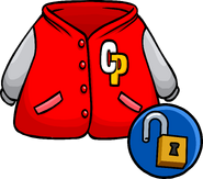 Red Letterman Jacket Unlockable