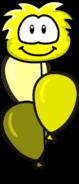 Yellow Puffle Balloon