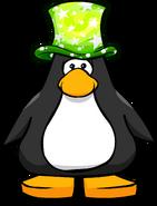 Green Cosmic Hat PC