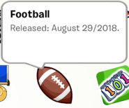 Football Pin SB