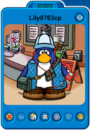 Lily8763cp Player Card - Early March 2020 - Club Penguin Rewritten