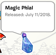 Magic Phial Pin SB