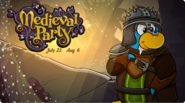 Medieval Party 2020 Login Screen