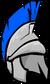 Silver Roman Helmet