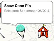 Snow Cone Pin SB