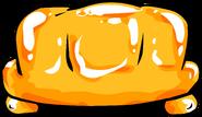 Orange Inflatable Sofa sprite 005