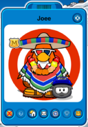 Joee Player Card - Late January 2019 - Club Penguin Rewritten