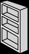 White Bookcase sprite 005