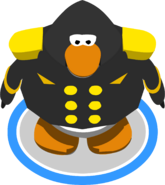Black Admiral Jacket IG