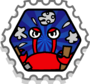 Crab Crash stamp