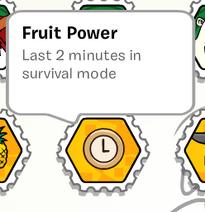 Fruit Power Stamp SB