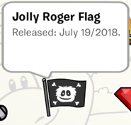 Jolly Roger Pin SB
