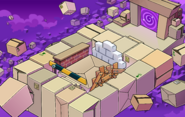 April Fools Party 2019 Box Dimension construction