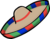 Colourful Sombrero