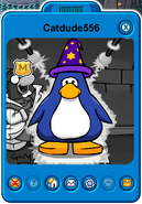 Catdude556 Player Card - Early November 2019 - Club Penguin Rewritten