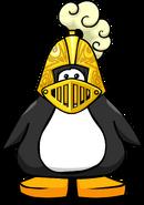 Golden Knight's Helmet PC