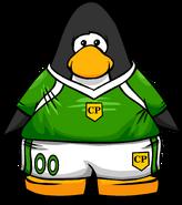 Green Soccer Jersey PC