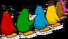 Line Penguins