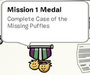 Mission 1 Medal SB
