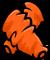 Orange Wing Warmers
