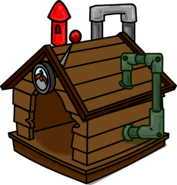 Brown Puffle House 1