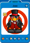 Joee Player Card - Early May 2019 - Club Penguin Rewritten