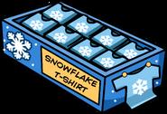 Snowflake T-Shirt Location