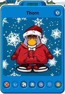Thorn Player Card - Mid November 2018 - Club Penguin Rewritten