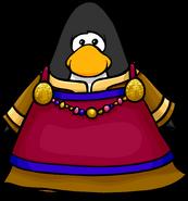 Pink Viking Dress on a player card