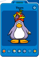 Thorn Player Card - Late April 2019 - Club Penguin Rewritten
