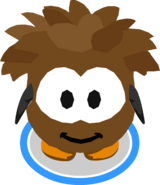 Brown Puffle Costume IG