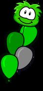 Green Puffle 2020 Balloon