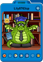 Lily8763cp Player Card - Mid January 2020 - Club Penguin Rewritten