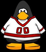 Red Away Hockey Jersey PC