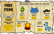 Rockhopper's Rare Items Sep 19