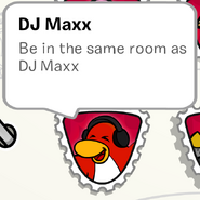 DJ Maxx stamp book