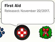 First Aid Pin SB