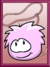 Pink Puffle Poster