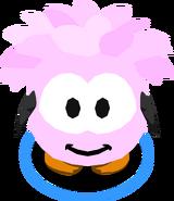 Pink Puffle Costume IG