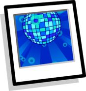 Aqua Disco Background Icon