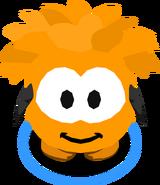 Orange Puffle Costume IG