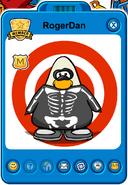 RogerDan Player Card - Early October 2018 - Club Penguin Rewritten