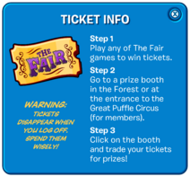 The Fair 2017 Ticket Popup